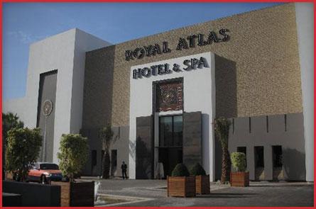 S 233 Jour Sur Le Royal Atlas Agadir Partirgolfer Organise